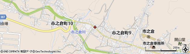岐阜県多治見市市之倉町周辺の地図