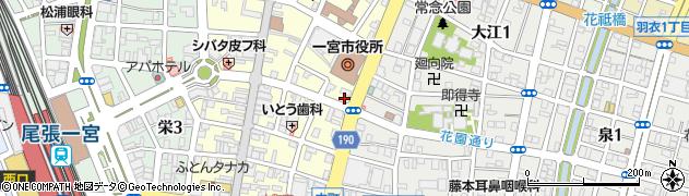 コマスヤ周辺の地図