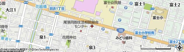 あららぎ周辺の地図