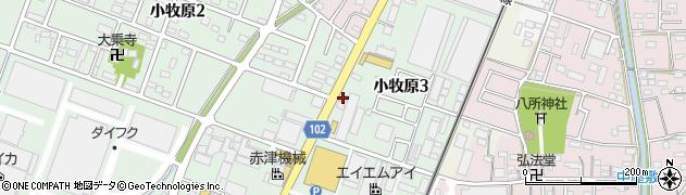 Bounce周辺の地図