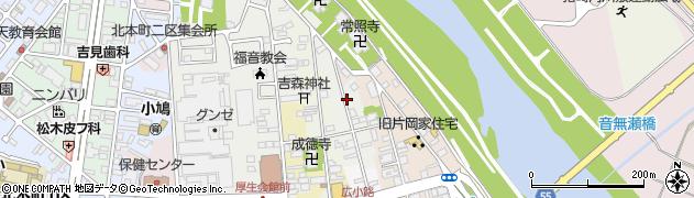 京都府福知山市下紺屋周辺の地図