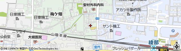 京都府綾部市井倉町(樋ノ元)周辺の地図