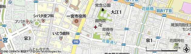 華市周辺の地図