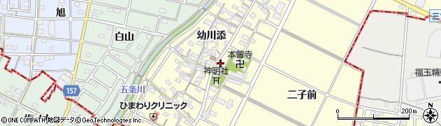 愛知県江南市曽本町(幼川添)周辺の地図