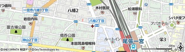 Biz周辺の地図