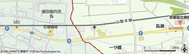 京都府綾部市高津町(下工後)周辺の地図