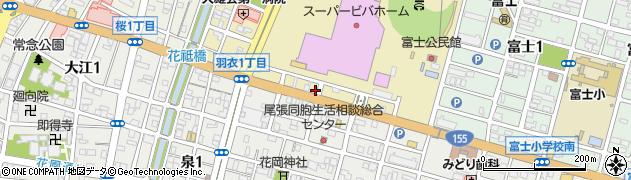 ハーフ&ハーフ周辺の地図
