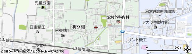 京都府綾部市井倉町(舘)周辺の地図