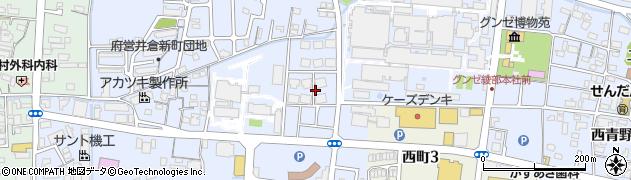 京都府綾部市青野町(六反目)周辺の地図