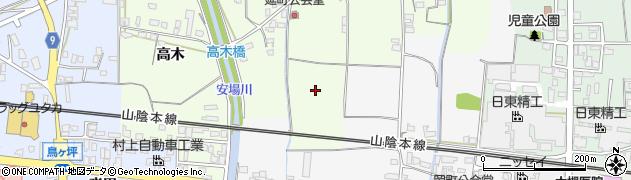 京都府綾部市延町(六反目)周辺の地図