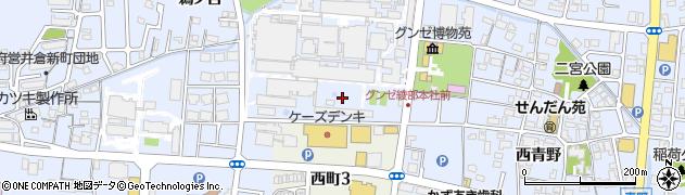 京都府綾部市青野町(深ミ田)周辺の地図