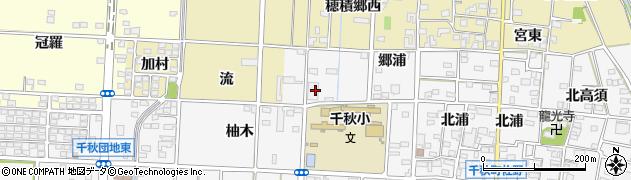 株式会社ながもり一宮店周辺の地図