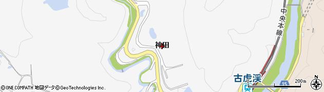岐阜県多治見市諏訪町(神田)周辺の地図