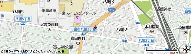 忍周辺の地図