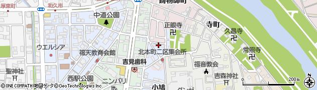 福知山合同宿舎周辺の地図