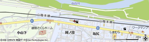 京都府綾部市大島町(南天田井)周辺の地図