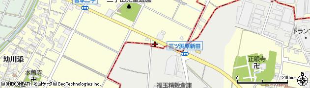 エビアン周辺の地図