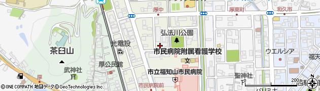 京都府福知山市厚中町周辺の地図