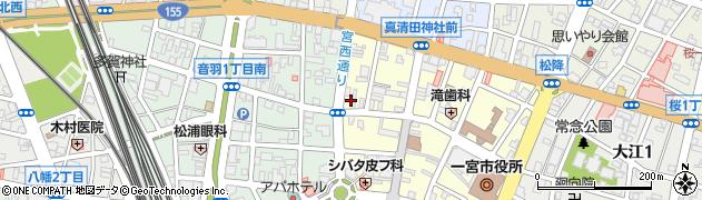 金刀比羅社周辺の地図
