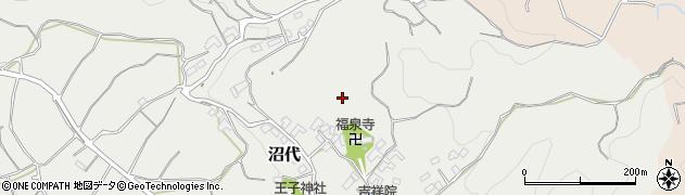 神奈川県小田原市沼代周辺の地図