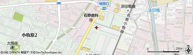 スージーQ周辺の地図