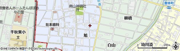 愛知県江南市小折東町周辺の地図