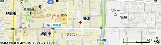末木周辺の地図