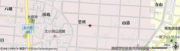 愛知県一宮市北小渕周辺の地図
