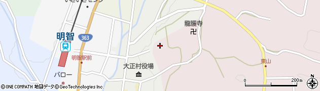 八王子神社周辺の地図
