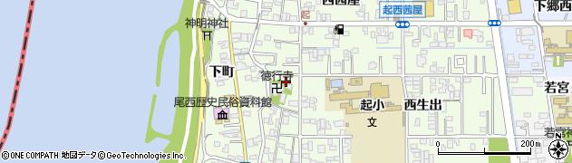 愛知県一宮市起(用水東)周辺の地図