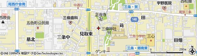愛知県一宮市三条(苅)周辺の地図