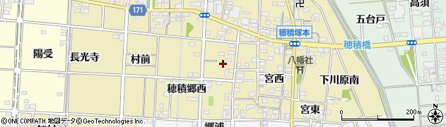 愛知県一宮市千秋町穂積塚本(穂積郷西)周辺の地図