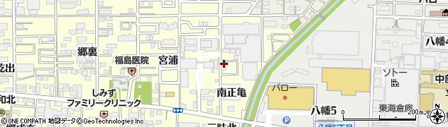 愛知県一宮市大和町馬引(南正亀)周辺の地図