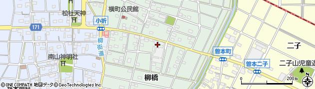 愛知県江南市小折本町周辺の地図