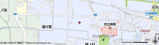 京都府綾部市青野町(塚下)周辺の地図
