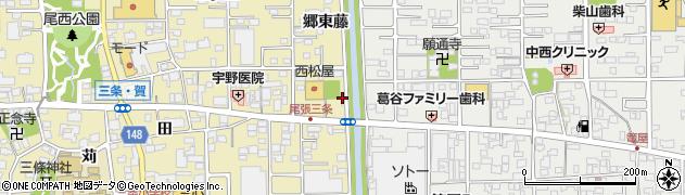 錦周辺の地図