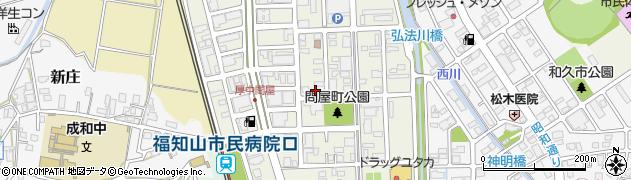 京都府福知山市問屋町周辺の地図