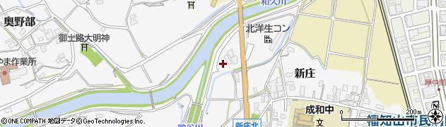 京都府福知山市新庄(本庄河原)周辺の地図