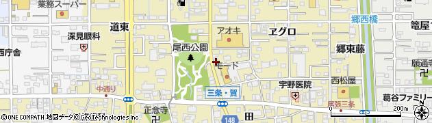 目の字周辺の地図