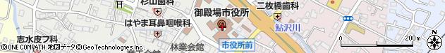 静岡県御殿場市周辺の地図