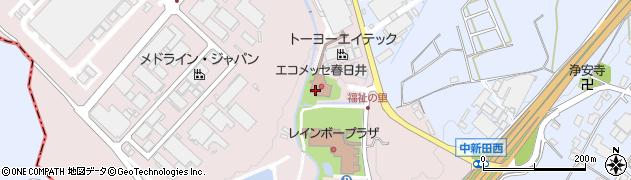 株式会社トヨタエンタプライズ 春日井食堂周辺の地図