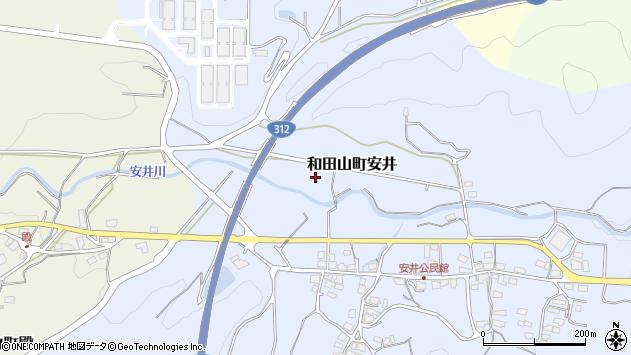 〒669-5254 兵庫県朝来市和田山町安井の地図