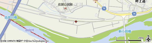 京都府綾部市小貝町周辺の地図