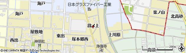 愛知県一宮市千秋町穂積塚本(段ノ上)周辺の地図