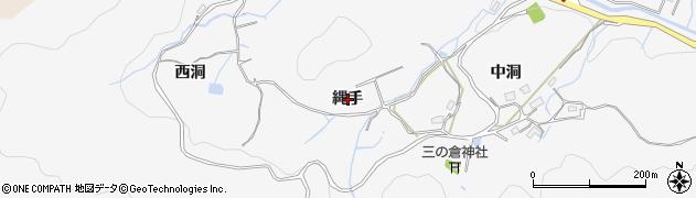 岐阜県多治見市三の倉町(縄手)周辺の地図