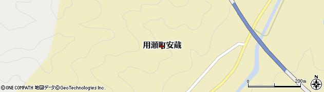鳥取県鳥取市用瀬町安蔵周辺の地図