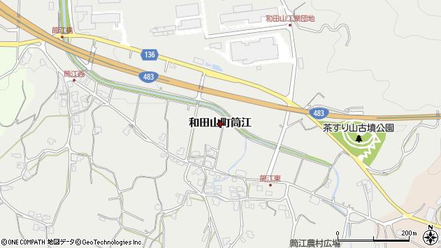 〒669-5265 兵庫県朝来市和田山町筒江の地図
