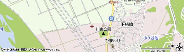 京都府福知山市下猪崎周辺の地図