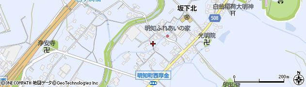 愛知県春日井市明知町周辺の地図