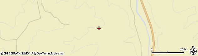 長野県平谷村(下伊那郡)入川周辺の地図